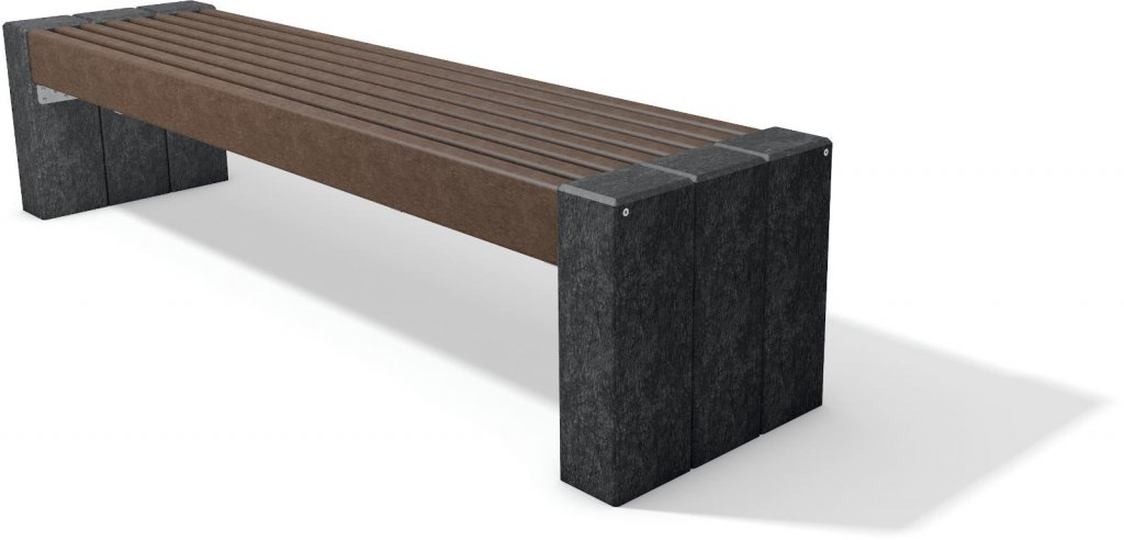 Kunststoffbank High Line