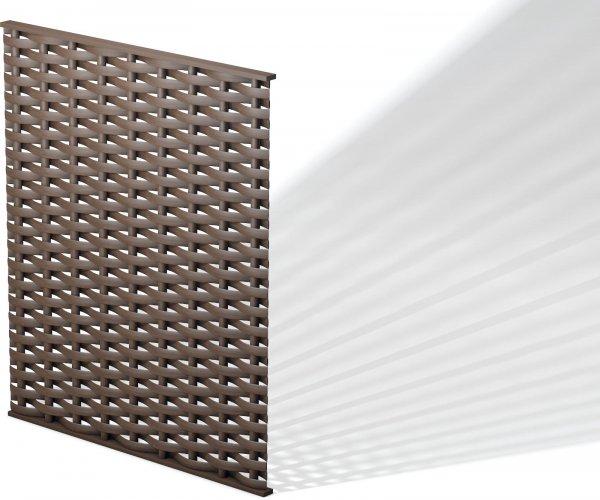 Kunststoff Flecht-Sichtschutz