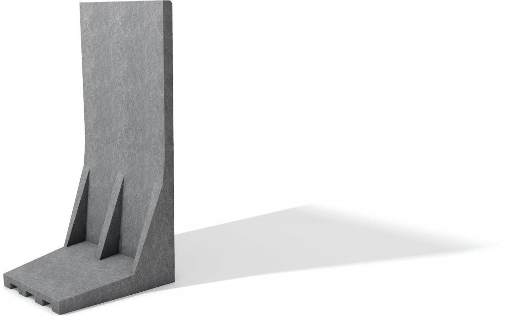 Kunststoff L-Stein