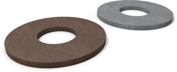 Kunststoff Bodenplatte für Poller