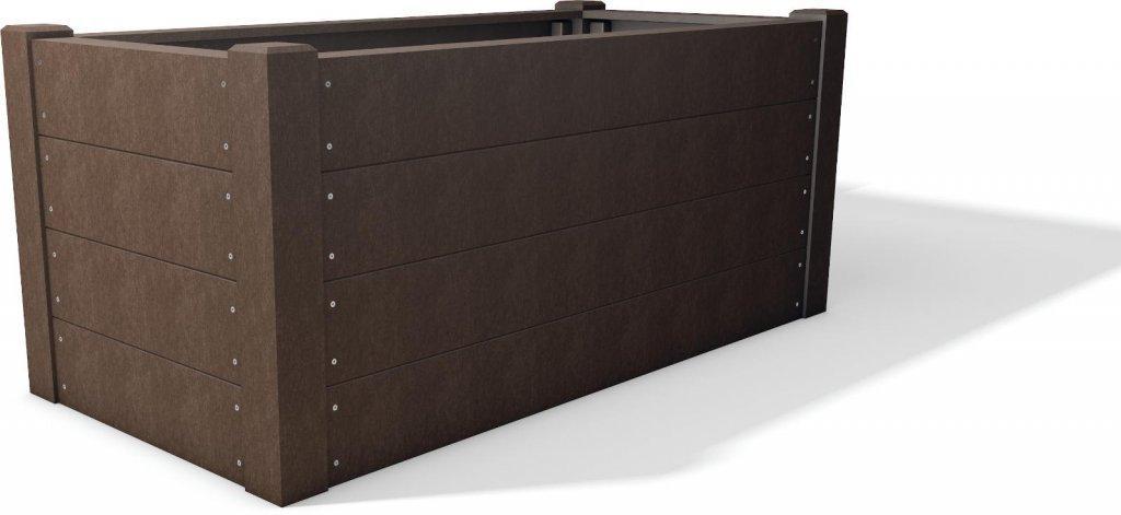 kunststoff hochbeet terra unsere hochbeetsysteme. Black Bedroom Furniture Sets. Home Design Ideas