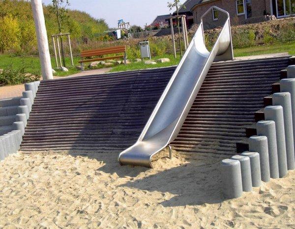 Kunststoff-Kunststoff Palisaden Hohlkehl