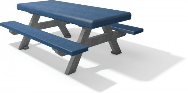 Kunststoff Sitzgruppe Forio ohne Lehne für Kinder