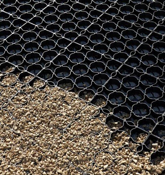 Kunststoff-Kunststoff Rasengitter