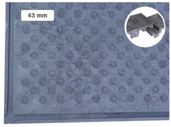 Pferdestallboden 43 mm