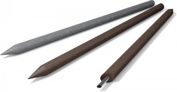 Kunststoff-Kunststoffpfähle Koppelpfosten / Rundpfosten mit Spitze