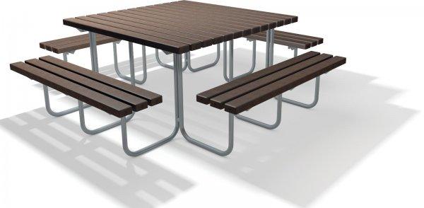 Kunststoff Sitzgruppe Stelvio ohne Lehne