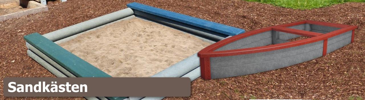 Recycling Kunststoff-Sandkasten